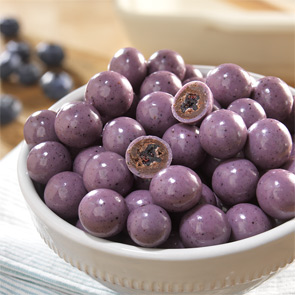 All-Natural Blueberry Chocolates