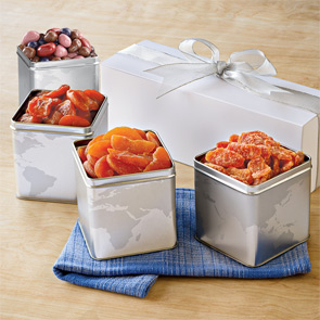 Premium 4-Tin Boxed Gift Set