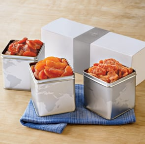 Premium 3-Tin Boxed Gift Set