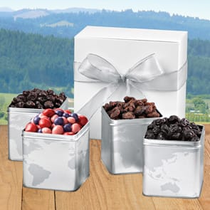 Very Cherry 4-Tin Boxed Gift Set