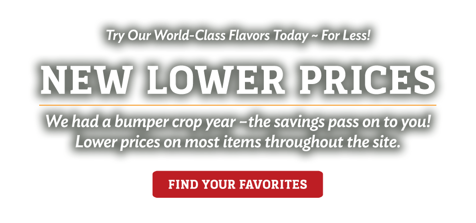 New! Lower Prices - Find Your Favorites