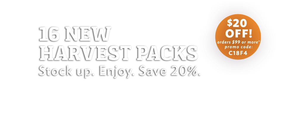 Meduri 5-pound Harvest Packs