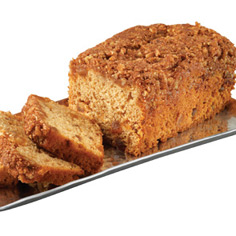 Cinnamon Streusel Apple Coffee Cake