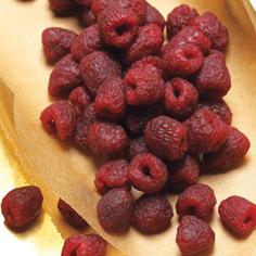 Heritage Red Raspberries