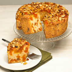 Meduri Nutty Peach Cake™