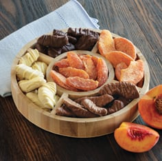 Peach Medley Sampler Wheel