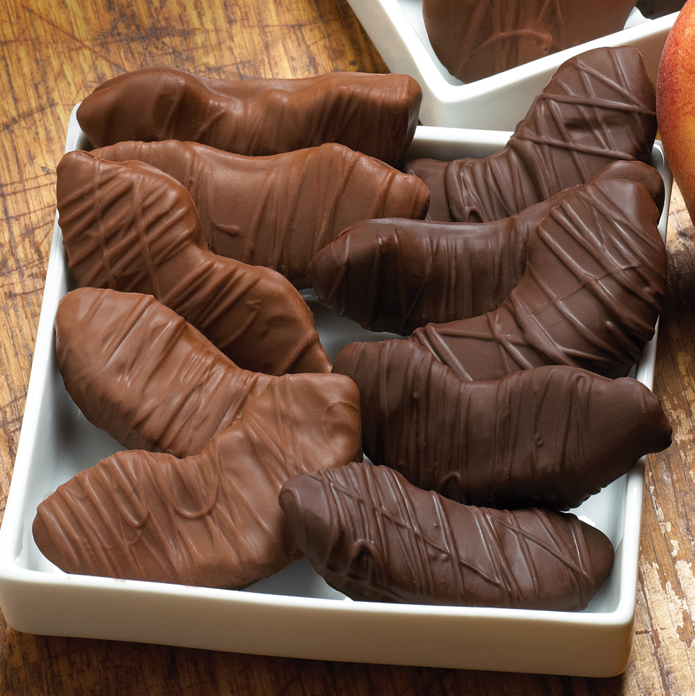 Milk Chocolate Peach Treasures